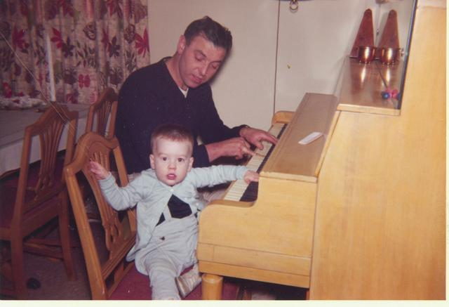 dad tim piano